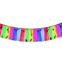 Papstar Girlanda střapce 4 m, různobarevná, nehořlavá