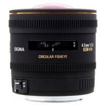Sigma 4,5mm f/2,8 EX DC HSM pro Canon