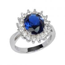 Silvego Stříbrný prsten princezny Kate. - TXR903091