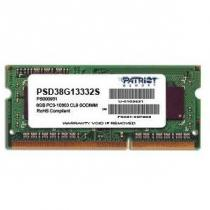 Patriot Signature Line 8GB DDR3 1333 SODIMM CL9 (PSD38G13332S)