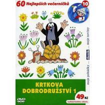 Krtkova dobrodružství 1 DVD