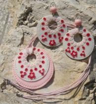 OEM Souprava šperků růžová