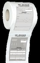 Toaletní papír - Daňové přiznání