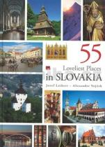 Jozef Leikert: 55 loveliest places in Slovakia