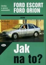 Hans-Rüdiger Etzold: Ford Escort, Ford Orion od 9/90