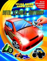 Velká kniha samolepek Auta, letadla, motorky