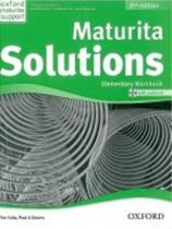 Tim Falla: Maturita Solutions Elementary 2nd Ed. Workbook with Audio CD PACK Czech Edition