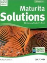 Tim Falla: Maturita Solutions 2nd Edition Elementary Studentƒs Book Czech Edition