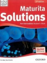 Tim Falla: Maturita Solutions 2nd Edition Pre Intermediate Studentƒs Book Czech Edition