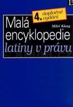 Miloš Klang: Malá encyklopedie latiny v právu