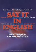 Paul Benson: Say it in English