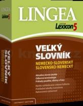 Lexicon5 Velký slovník nemecko slovenský slovensko nemecký