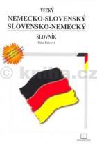 Táňa Balcová: Velký nemecko slovenský a slovensko nemecký slovník