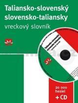 Taliansko slovenský slovensko taliansky vreckový slovník