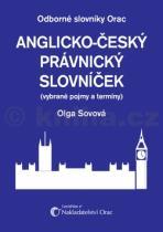 Olga Sovová: Anglicko český právnický slovník