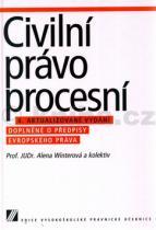 Alena Winterová: Civilní právo procesní
