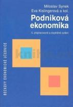 Miloslav Synek: Podniková ekonomika, 5. přepracované a doplněné vydání