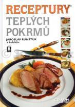 Jaroslav Runštuk: Receptury teplých pokrmů + CD ROM