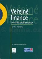 Jitka Peková: Veřejné finance