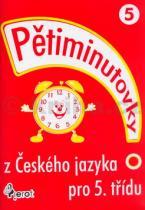 Petr Šulc: Pětiminutovky z Českého jazyka pro 5.třídu