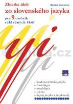 Renáta Somorová: Zbierka úloh zo slovenského jazyka pre 9. ročník základných škol