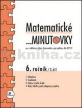 Miroslav Hricz: Matematické minutovky 6.ročník 2.díl