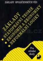 Bohuslav Eichler: Základy státoprávní teorie, ekonomie a ekonomiky, logiky