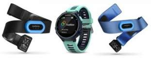Garmin Forerunner 735XT Tri Bundle Blue - 010-01614-10