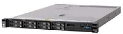 System x Express x3550M5 Xeon 6C E5-2603v3 85W 1.6GHz/15MB/1x8GB, 0GB HS 2.5in (4), M1215, LCD, DVD-RW, 550W