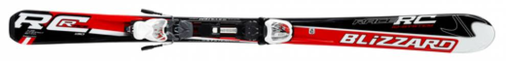 Blizzard RC Race IQ Black/Red 09/10