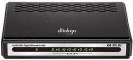 D-Link GO-SW-8G/E 8-Port GIGABIT EASY DESKTOP SWITCH