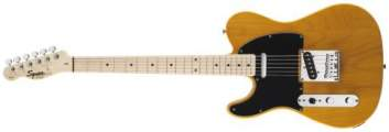 FENDER SQUIER Affinity Telecaster® L/H, Maple Fingerboard, Butterscotch Blonde