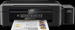 EPSON L386 - A4/33-15ppm/4ink/Wi-Fi/ CISS