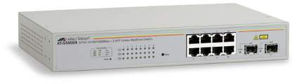 Allied Telesis 8xGB+2xSFP Smart switch AT-GS950/8
