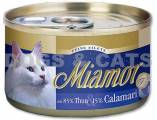 Miamor Cat Filets konzerva tuňák & kalamáry 24x 100 g