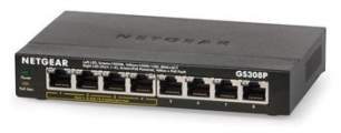 Netgear 8PT UNMANAGED POE SWITCH (metal case)