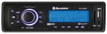Roadstar RU-285BT Autorádio s USB/SD/MMC a konektivitou Bluetooth