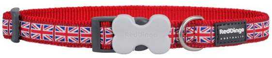 RED DINGO obojek Union Jack Flag 41-63 cm