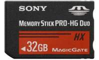 SONY Memory Stick Pro DUO HighGrade MSHX32B,50MB/s - SONY Memory Stick Pro DUO HighGrade MSHX32B,50MB/s