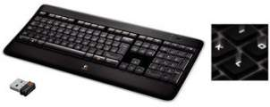 klávesnice Logitech Wireless Illuminated K800, US layout - 920-002394 - US
