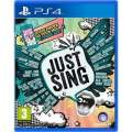 Ubisoft PlayStation 4 Just Sing (3307215938317)