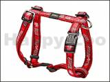 Postroj ROGZ Fancy Dress SJ 12 CC-Red Bones (M) 1,6x28-46x32-52cm