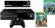 XBOX ONE, 500GB + Kinect + Kinect Sports Rivals + Zoo Tycoon - 7UV-00257