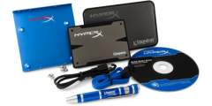Kingston Flash SSD 240GB HyperX 3K SSD SATA 3 2.5 Upgrade Bundle Kit