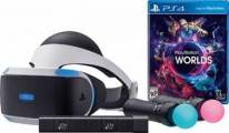 PlayStation VR + hra VR Worlds + PS4 kamera + PS MOVE Twin Pack - PS719880561