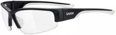 brýle Uvex Sportstyle 215 Black White/Clear