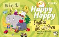 Happy Hoppy English for children - 22x35, Sleva 17%