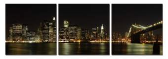 Posters Obraz New York - Manhattan Skyline, (180 x 60 cm)