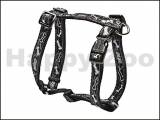 Postroj ROGZ Fancy Dress SJ 12 CB-Black Bones (M) 1,6x28-46x32-52cm