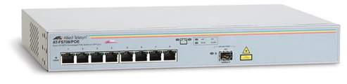 Allied Telesis 8x10/100+1SFP switch AT-FS708/POE - Allied Telesis 8x10/100+1SFP switch AT-FS708/POE